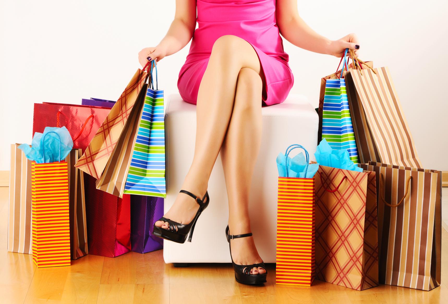 Женский шоппинг картинки