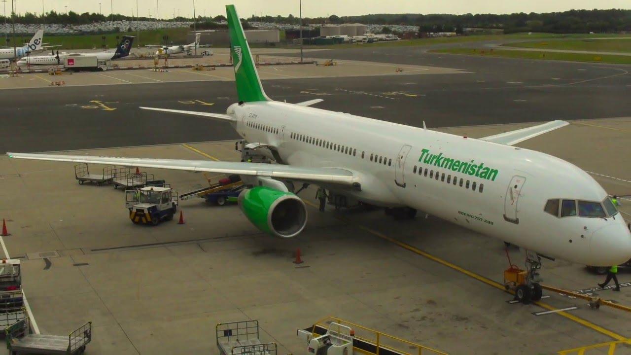 Фото туркменских самолетов будет