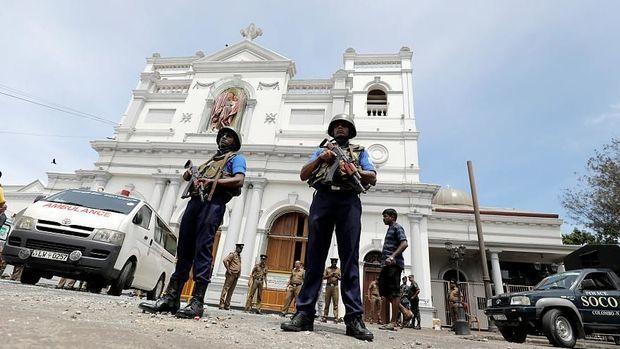 Şri-Lankada daha bir partlayış - VİDEO