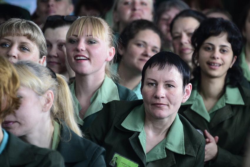 фото из женской зоны россии такие