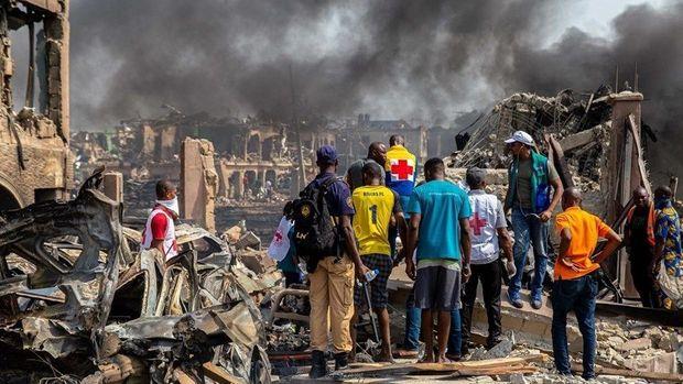 Nigeriyada neft borusunda partlayış: çoxlu sayda ölənlər var -VİDEO