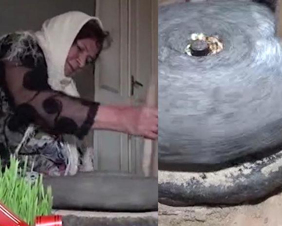 150 yaşlı əl dəyirmanı