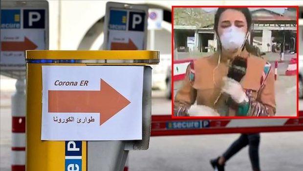 Canlı yayımda hərarəti yüksələn müxbir yerə yıxıldı - VİDEO