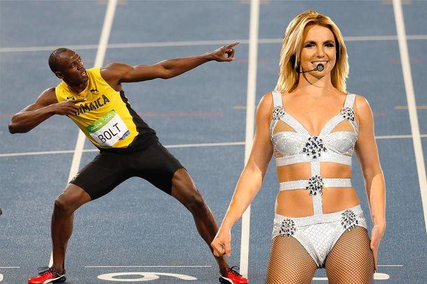 """Britni Spirs Useyn Boltun rekordunu """"qırdı"""""""