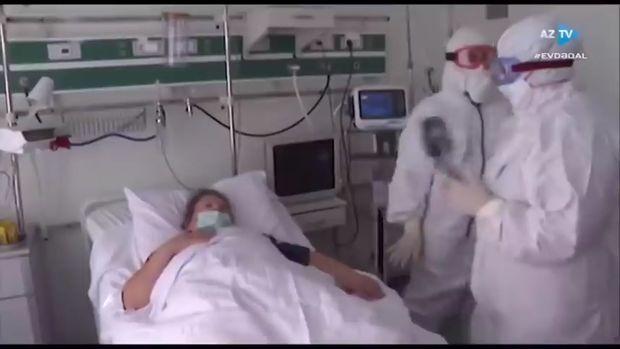 """Azərbaycanda koronavirusa yoluxan xəstə danışdı: """"Evdə, əzizlərinizin yanın ..."""