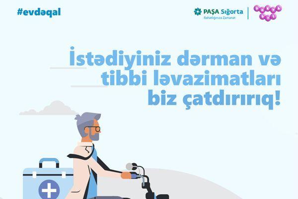 """""""PAŞA Sığorta"""" şirkəti bütün sığortalı müştərilər üçün dərmanların ödənişsi ..."""