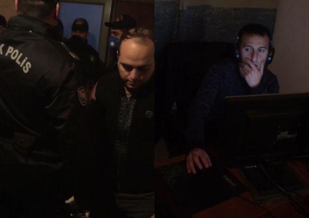 Yasamalda xüsusi karantin rejimi qaydalarını pozan internet klubunun sahibi ...