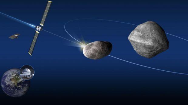 """""""NASA"""" Yer planetinə yaxınlaşan asteroidi məhv edəcək"""