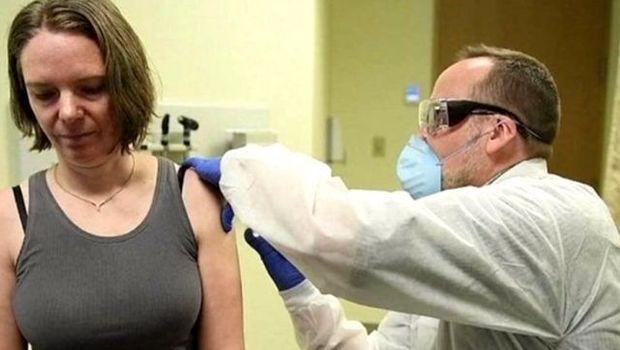 İlk koronavirus peyvəndi edilən qadın təəssüratını danışdı