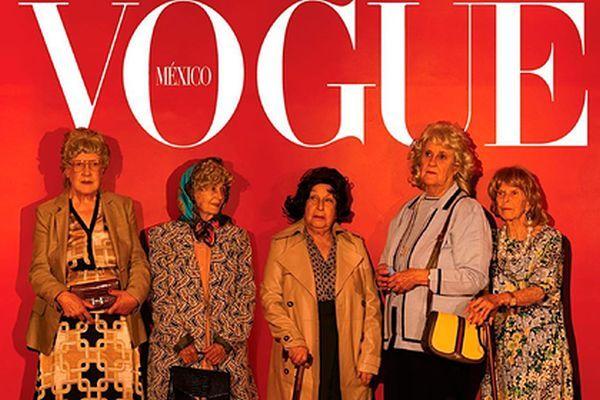 """Pensiyaçılar """"Vogue"""" üçün poz verdilər - FOTO"""