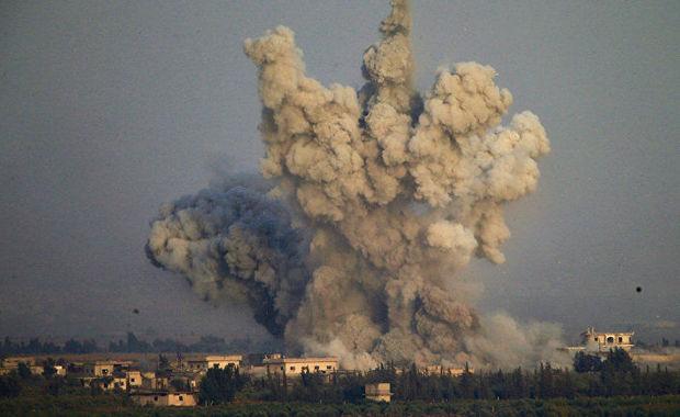 İsrail Hələbə raket zərbələri endirdi