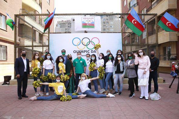 Bu gün Olimpiya Günüdür - FOTO
