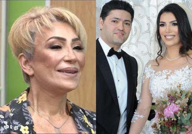 """Fidan Qasımova ilə quda olan Nahidə Orucova: """"Qızım üçün darıxıram"""" - VİDEO"""