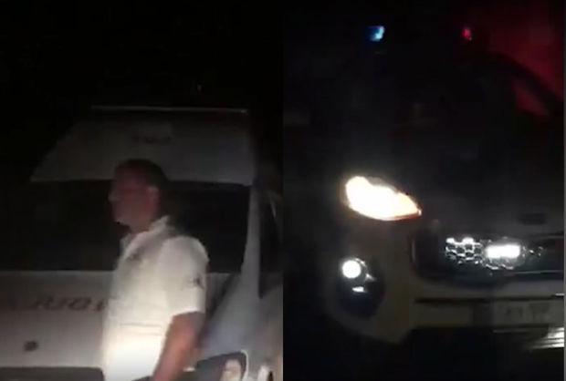 Bakıda polislər hamilə qadının köməyinə çatdılar - VİDEO