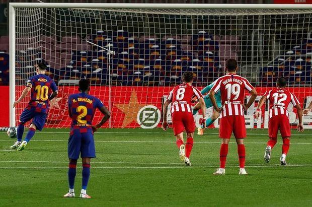 "Messi 700-cü qolunu vurdu, ""Barselona"" xal itirdi - VİDEO"