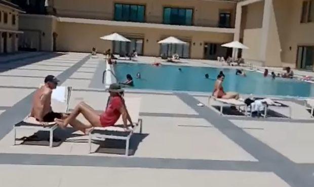 Bakıda daha bir məşhur hoteldə karantin qaydaları pozuldu - VİDEO