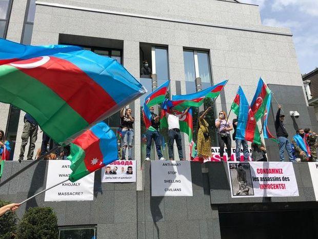 Dünya Azərbaycanlıları Assambleyası xarici ölkələrdə ermənilərin təxribatla ...