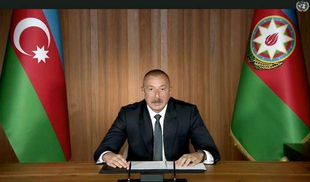 """Azərbaycan Prezidenti: """"İşğalçı dövlət olan Ermənistana qarşı sanksiyalar t ..."""