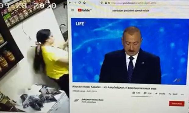 Oxu Az Irəvanin Mərkəzində Ilham əliyevin Cixisi Yayimlandi Video
