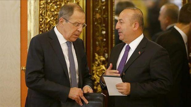Çavuşoğlu Lavrov ilə Dağlıq Qarabağdakı vəziyyəti müzakirə edib