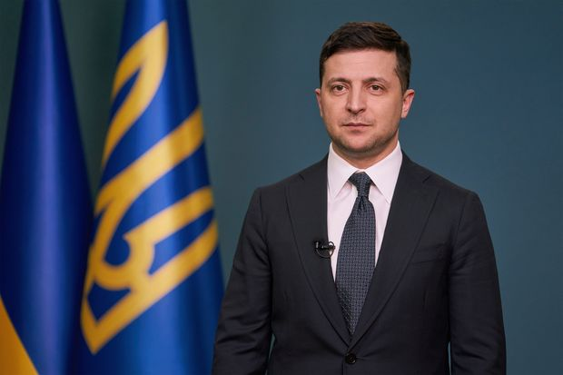 Vladimir Zelenski Azərbaycanın ərazi bütövlüyünü dəstəklədiyini bəyan edib