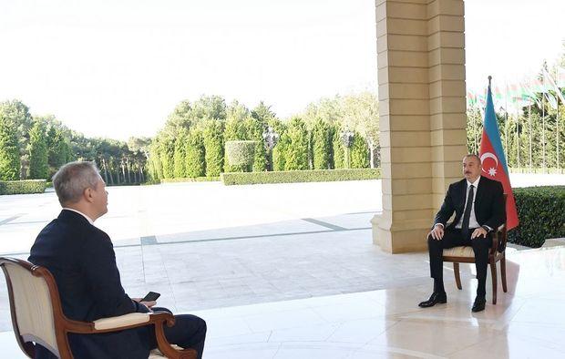 İlham Əliyev Rusiyanın RBK televiziya kanalına müsahibə verib - TAM MƏTN