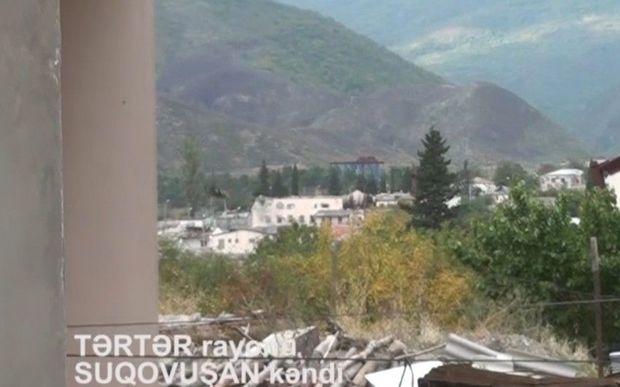 İşğaldan azad olunan Suqovuşan kəndinin son görüntüləri - VİDEO