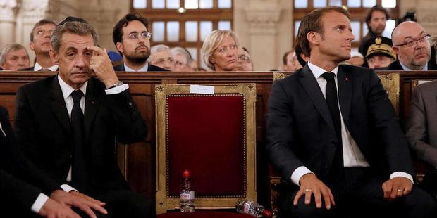 """""""Le Monde"""": """"Prezident seçkiləri yaxınlaşdıqca Makron və Sarkozi arasında m ..."""