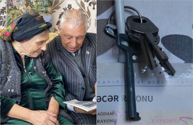 Qarabağı gözləyən 30 illik ümidin açarı - VİDEO