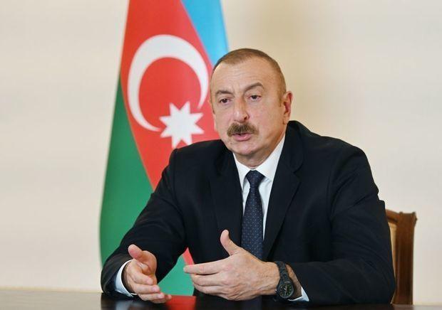 """İlham Əliyev: """"İrəvanın münaqişənin həll prosesi üzrə işə qadir olduğuna şü ..."""