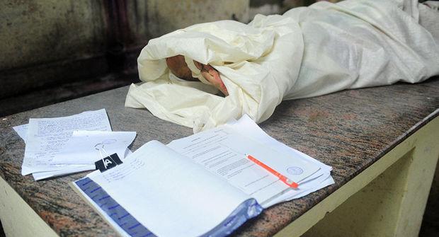 Sumqayıtda klinikanın zirzəmisində meyit tapıldı
