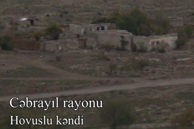 İşğaldan azad olunan Qubadlı və Cəbrayılın kəndlərindən VİDEOREPORTAJ