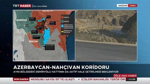 Azərbaycanla Naxçıvanı birləşdirəcək dəhliz - VİDEO