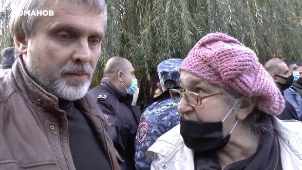 Rusiyalı bloqer ermənilərin nasist mahiyyətini nümayiş etdirdi - VİDEO