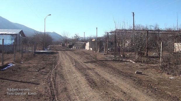 İşğaldan azad edilən Ağdamın daha bir kəndindən görüntülər - VİDEO