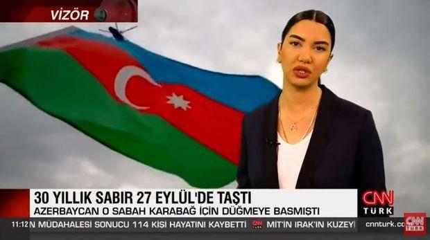 CNN türk kanalı İkinci Qarabağ müharibəsindən bəhs edən sənədli film hazırl ...