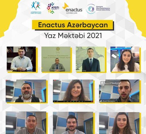 """Enactus Azərbaycan 2021-ci il """"Yaz Məktəbi"""" layihəsi uğurla başa çatıb"""