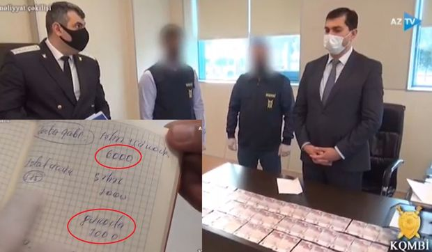 """Oxu.az - """"Yeni klinika""""nın direktoru və baş həkimin tutulma anı - ƏMƏLİYYAT  VİDEOSU"""