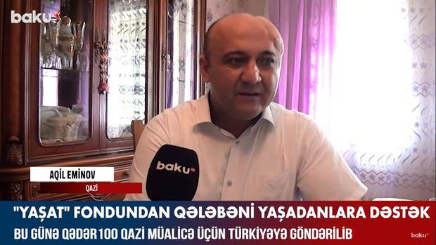 """""""YAŞAT"""" fondundan qələbəni yaşadanlara dəstək – VİDEO"""