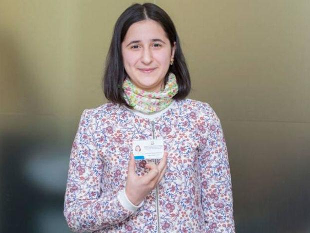 """Reyhan Camalova """"Green Awards"""" müsabiqəsinin qalibi oldu - VİDEO"""