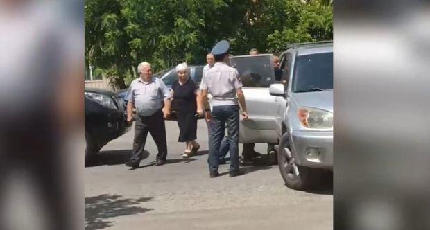 """""""Ermənistan"""" blokuna növbəti zərbə: Koçaryanın müttəfiqi saxlanıldı - VİDEO"""