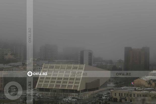 Nazirlikdən havadakı toz dumanı ilə bağlı MƏLUMAT