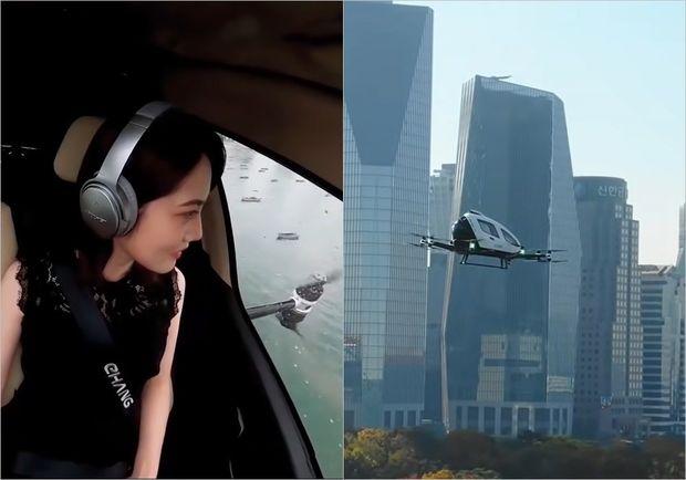 Yaponiyada uçan avtomobillərdə sərnişin daşınmasına başlanılır - VİDEO