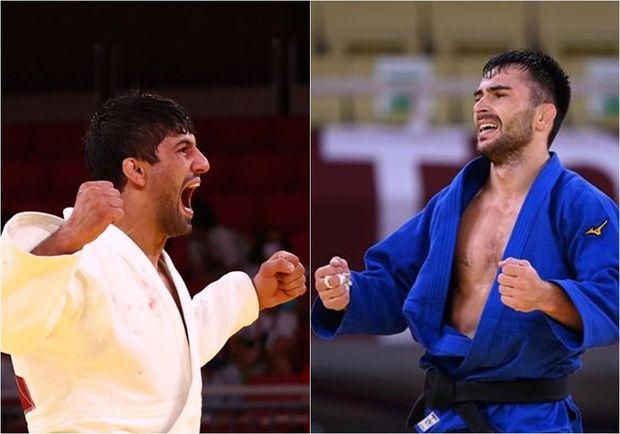 Gürcüstanın iki gümüş mükafatçısı Olimpiadadan qovulub - FOTO