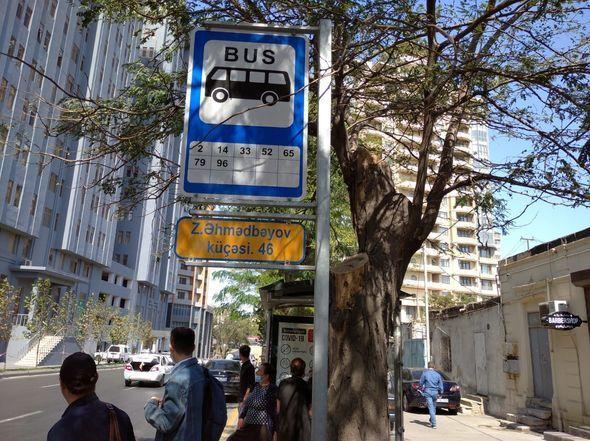 Avtobus dayanacaqlarının yararsız hala düşməsinin günahkarı kimdir? - AÇIQLAMA + FOTO